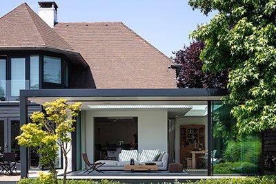 Verbouwing villa Briccs